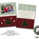 5x7 Christmas Card C031
