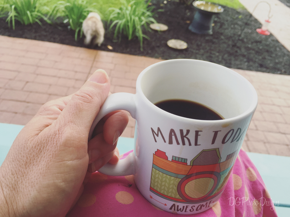 i love my early morning coffee on the porch in the summers and I am already missing them as I think of winter quickly approaching